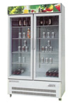 As a Chinese supplier we supply China-made UPRIGHT SHOWCASE CHILLERS-Static Direct Cooling Beverage Display Cooler Cabinet with good quality at reasonable price
